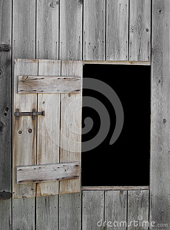 Free Opening And Door In Old Barn Royalty Free Stock Photography - 26613027