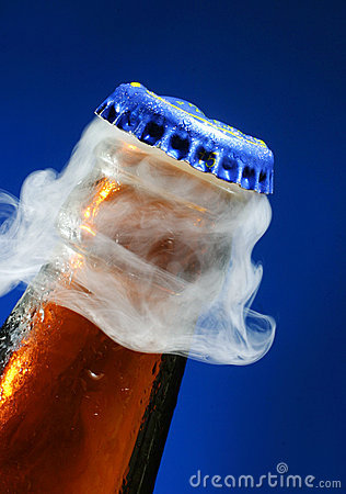 Opening of beer
