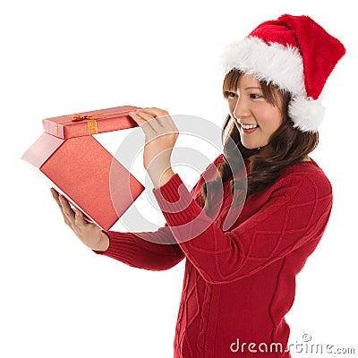 Free Opening Christmas Present Stock Photos - 32657703