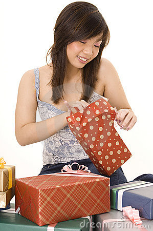 Opening a Gift