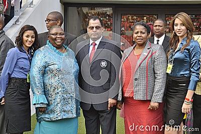 Opening of Nelson Mandela Bay Staduim Editorial Stock Photo