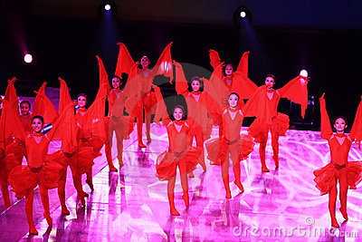 Opening Performance Editorial Stock Image