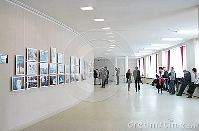 Smena World -2012 Photo exhibition Editorial Image