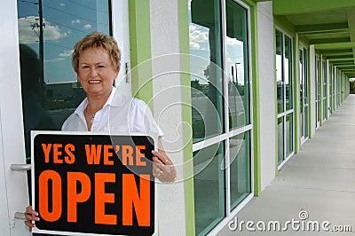 Opening retail shop