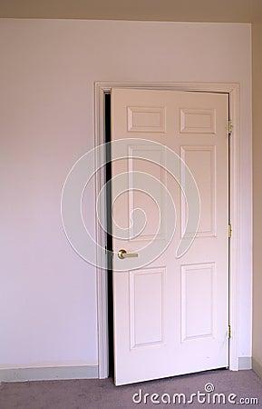 Opening room door