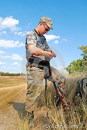 Opening of season of hunt
