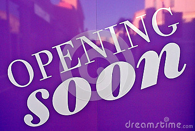 Opening soon