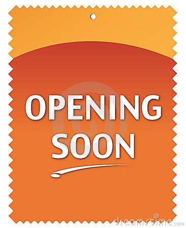 Free Opening Soon Stock Photo - 7845030