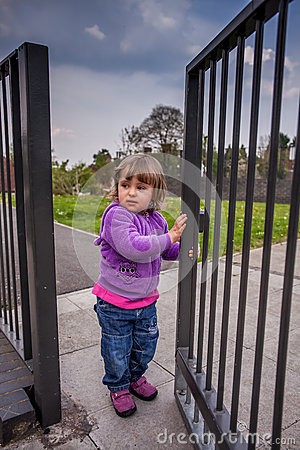 Free Opening The Gates Stock Images - 46655354