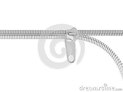 Opening zip illustration