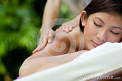 Openlucht Massage