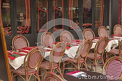 Openlucht restaurant