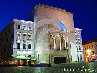 Opera building in Timisoara, Romania