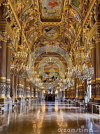 Free Opera Garnier Paris Stock Image - 30285091