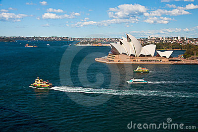 Opera house Editorial Stock Image