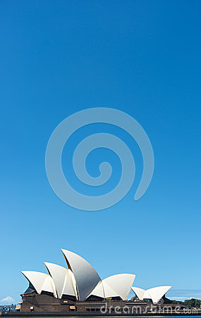 Opera house Blue Sky Editorial Stock Photo