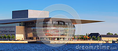 Opera house in Copenhagen Editorial Stock Photo