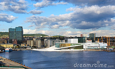 The opera house in Oslo.