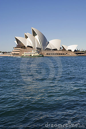 Opera House Sydney Editorial Stock Photo