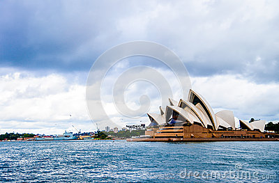 Opera house in Sydney Australia Editorial Photography