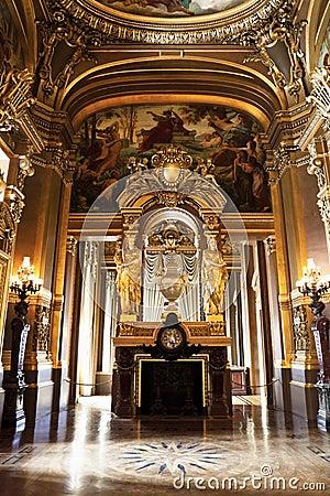 The Opera or Palace Garnier. Paris, France.
