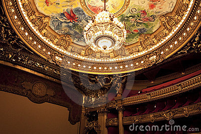 The Opera or Palace Garnier. Paris, France.