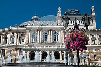 Opera theater in Odessa Ukraine