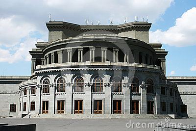 Opera theater in Yerevan