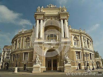 Opera Theatre Building in Odessa Ukraine