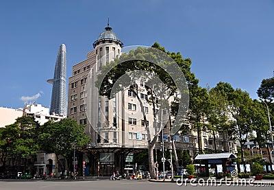 Opera View Shopping, Ho chi Minh City, Vietnam Editorial Photo