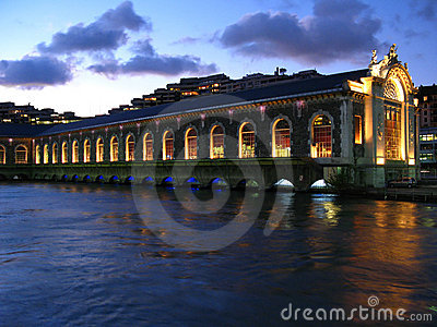 Opera on water, Geneva, Switzerland