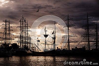 Operation Gdynia Sails Editorial Image