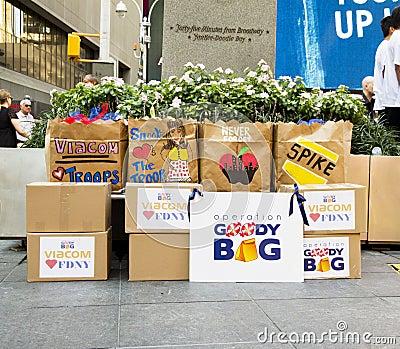 Operation Goody Bag Editorial Image