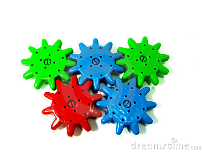 Operative mechanical toy wheel