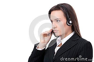 Operator of call center