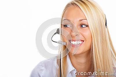 The operator girl