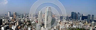 Opinião panorâmico de Tokyo