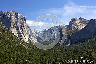 Opiniões do vale de Yosemite