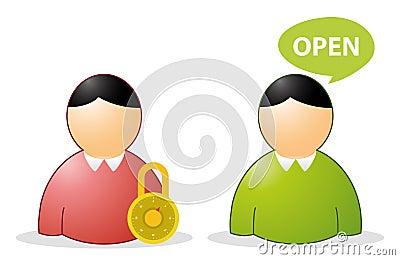 Opne closed user