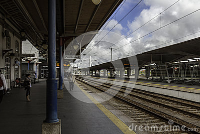 Oporto campanha station Editorial Stock Image