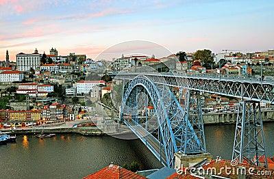 Oporto cityscape