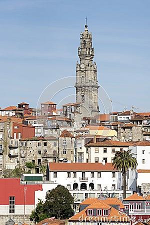 Oporto (Clerigos wierza)