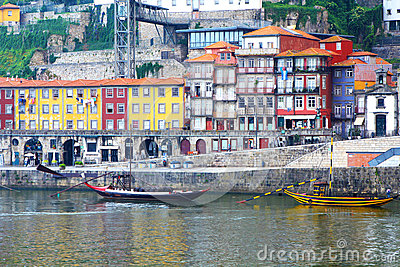 Oporto Ribeira, Portugal