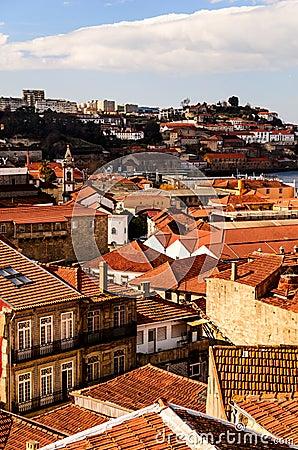 Oporto roofs