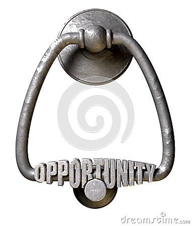 Opportunity Knocks Door Knocker