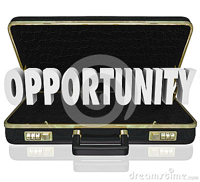 Opportunity Word Open Briefcase Job Offer Sales Proposal