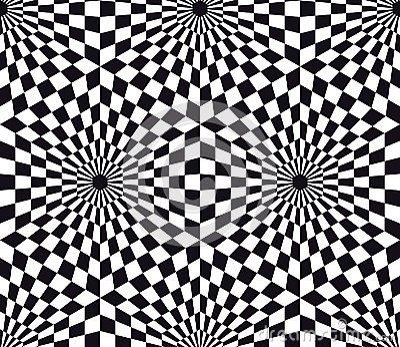 Optical Art Seamless