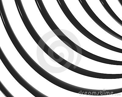 Optical Art Spiral Curves Scallop 01