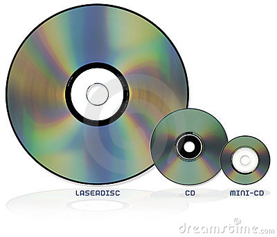 Optical disc formats