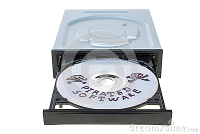 Optical Disk Drive With Disk Royalty Free Stock Photos - Image: 25517198